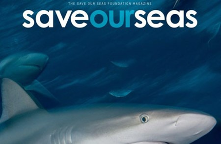 Save Our Seas Magazine Cover
